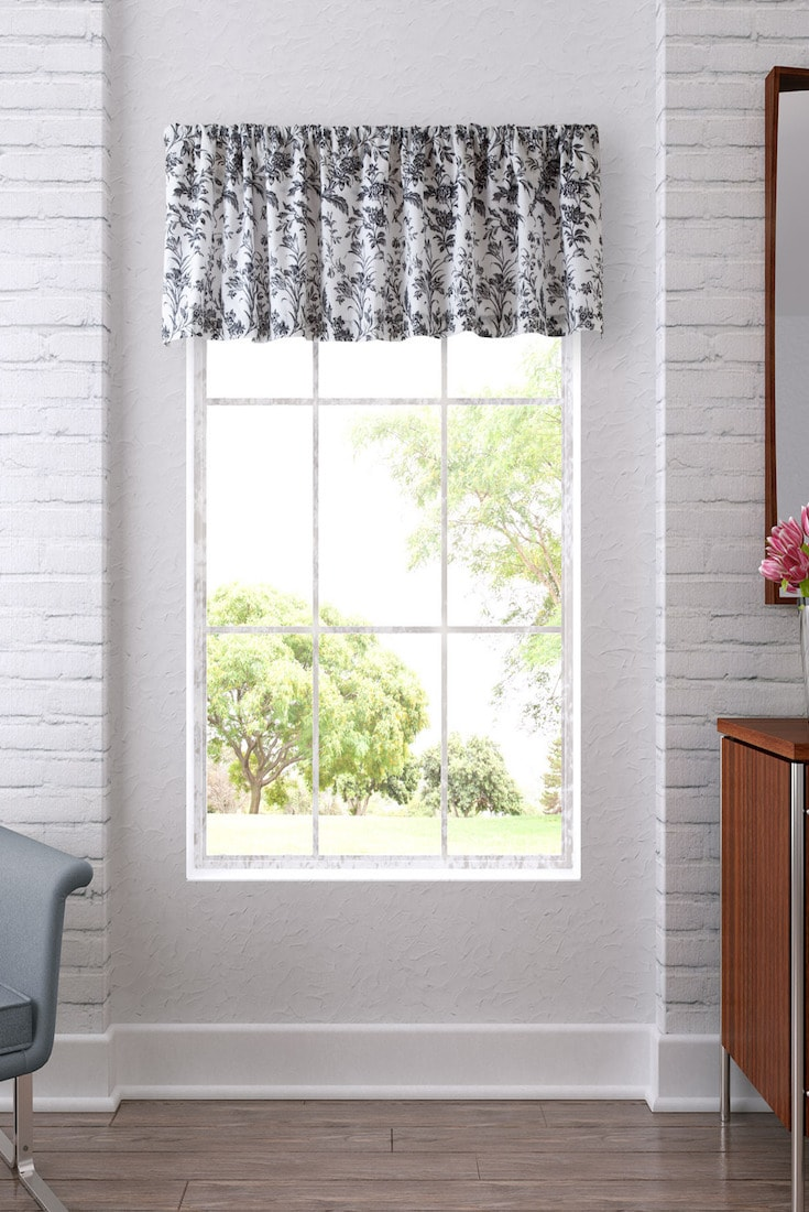 Window Valance Living Room 6 Best Window Valances For Your Living Room Overstockcom