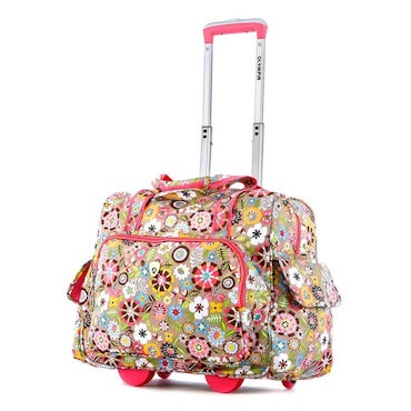 Floral Carry-on Bag