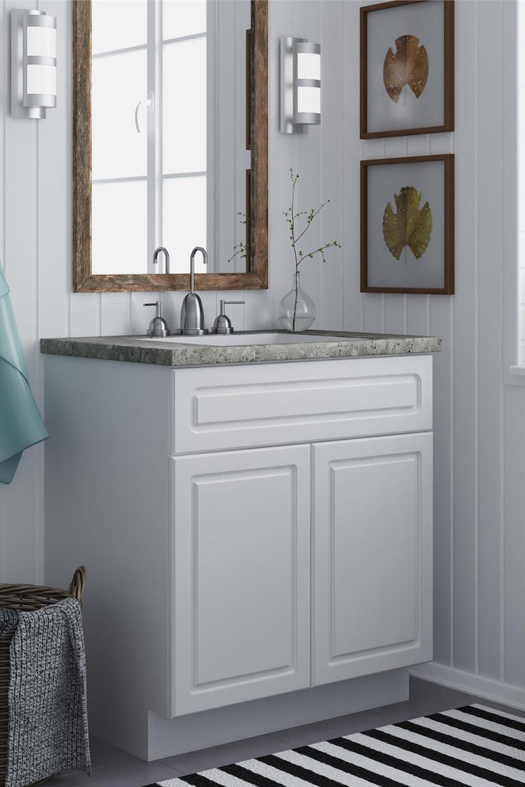 how to maximize your small bathroom vanity