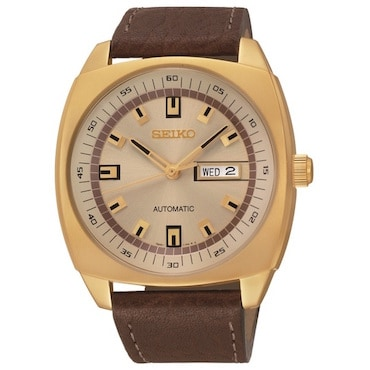 Brown Seiko Men's Watch