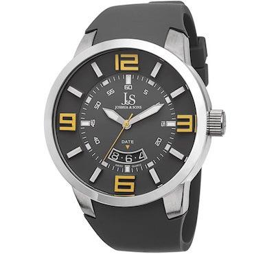 Black Swiss Quartz Watch