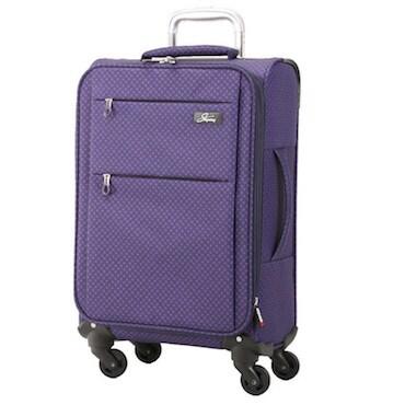 Purple Single Suitcase