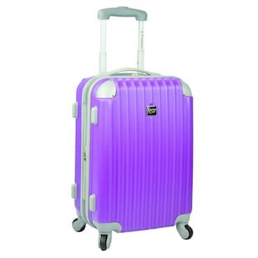 Purple Spinner Luggage