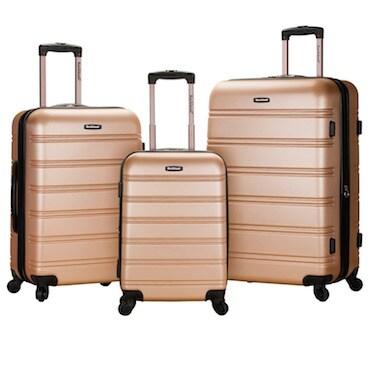Brown Hardsided Luggage