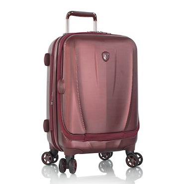 Maroon Upright Luggage