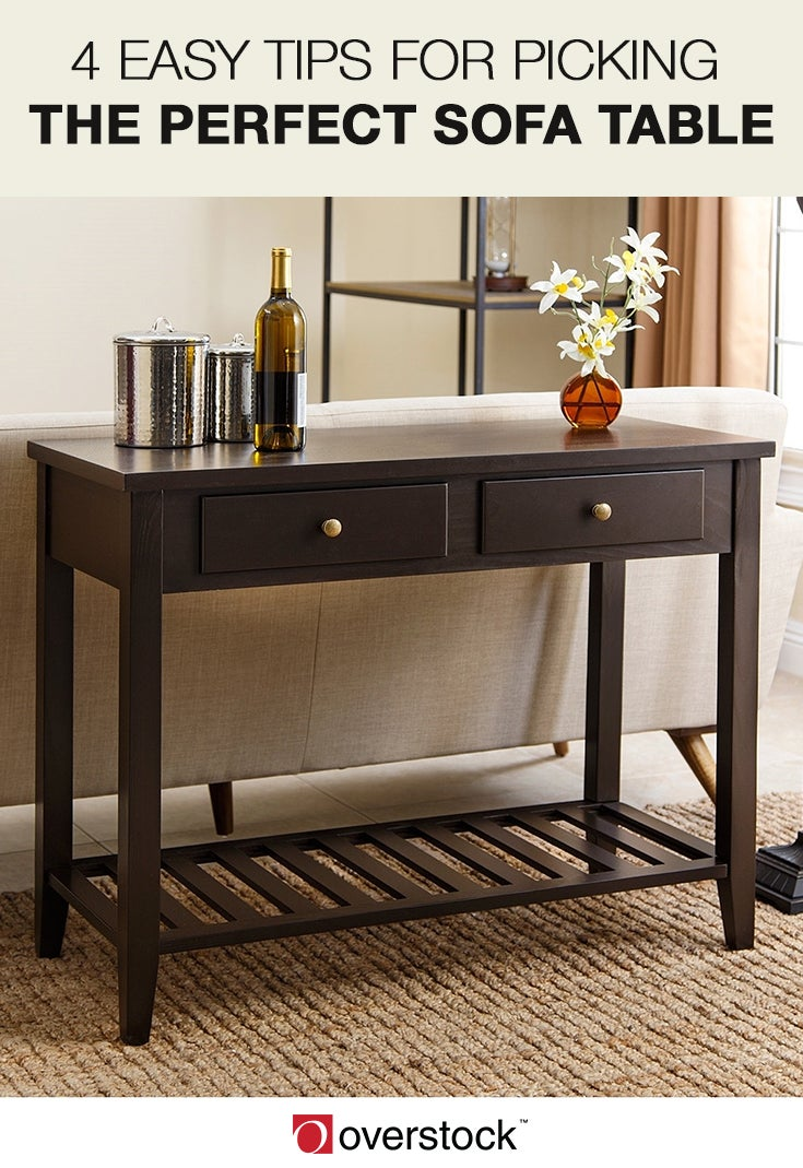 4 Easy Tips for Picking the Perfect Sofa Table