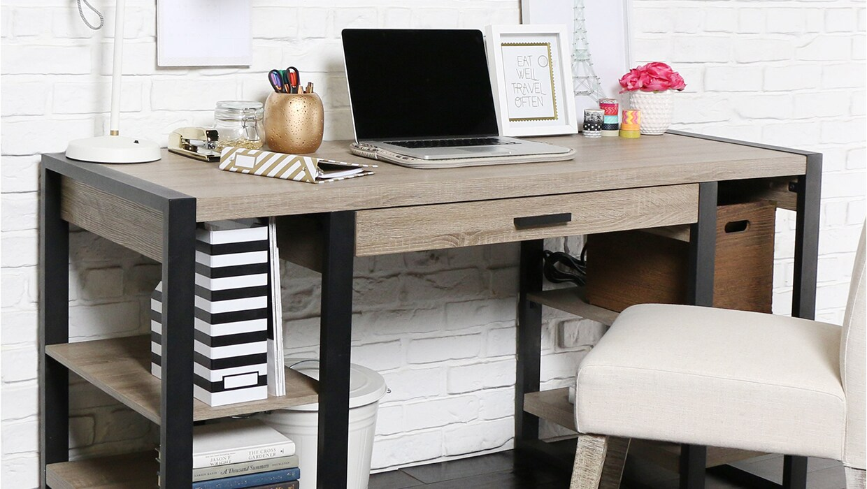 Stupendous 5 Best Pieces Of Office Furniture For Small Spaces Overstock Com Largest Home Design Picture Inspirations Pitcheantrous