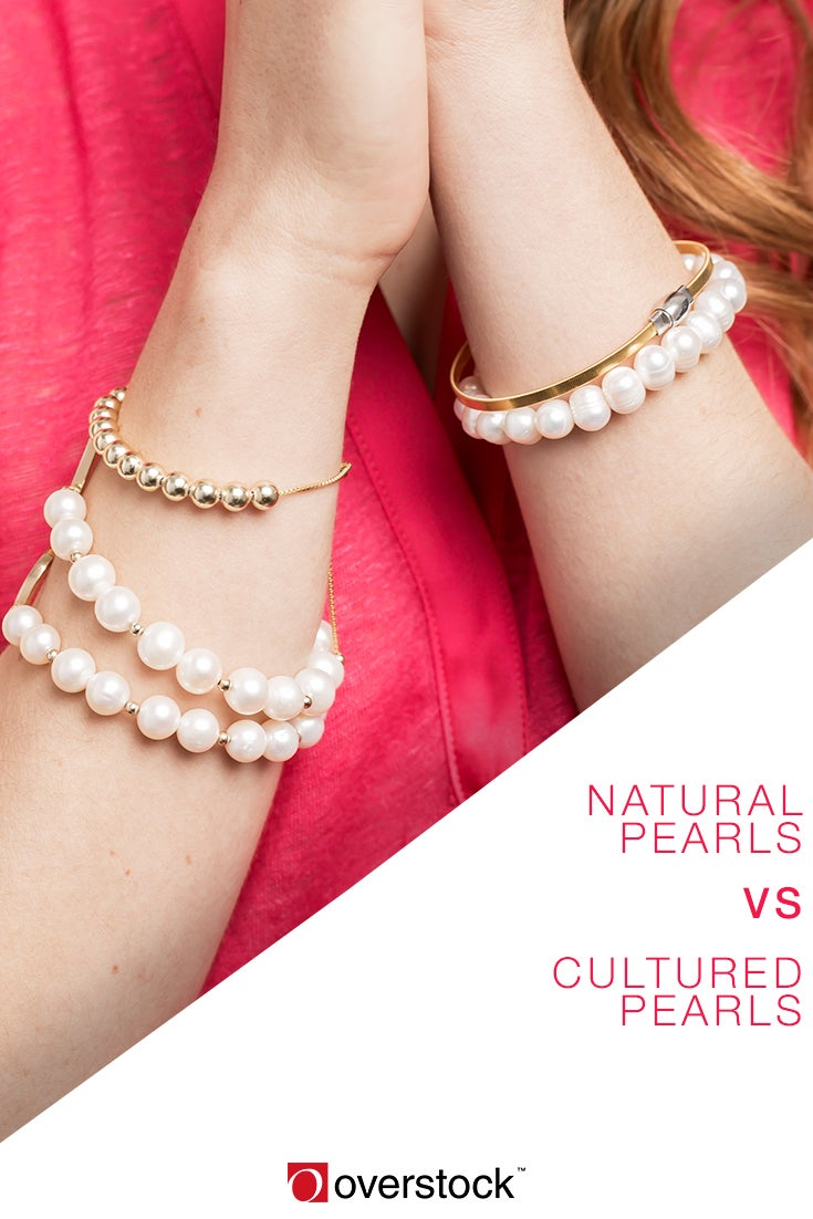 Natural Pearls vs. Cultured Pearls