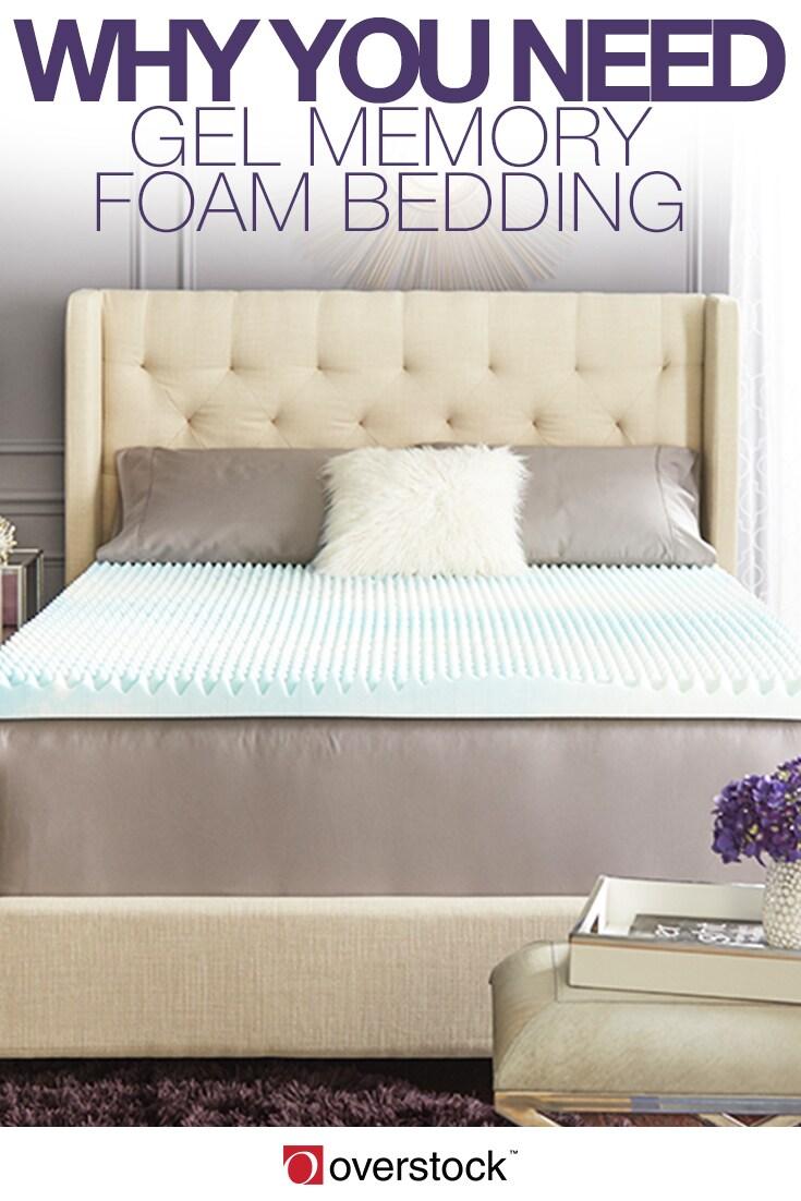 Why You Need Gel Memory Foam Bedding