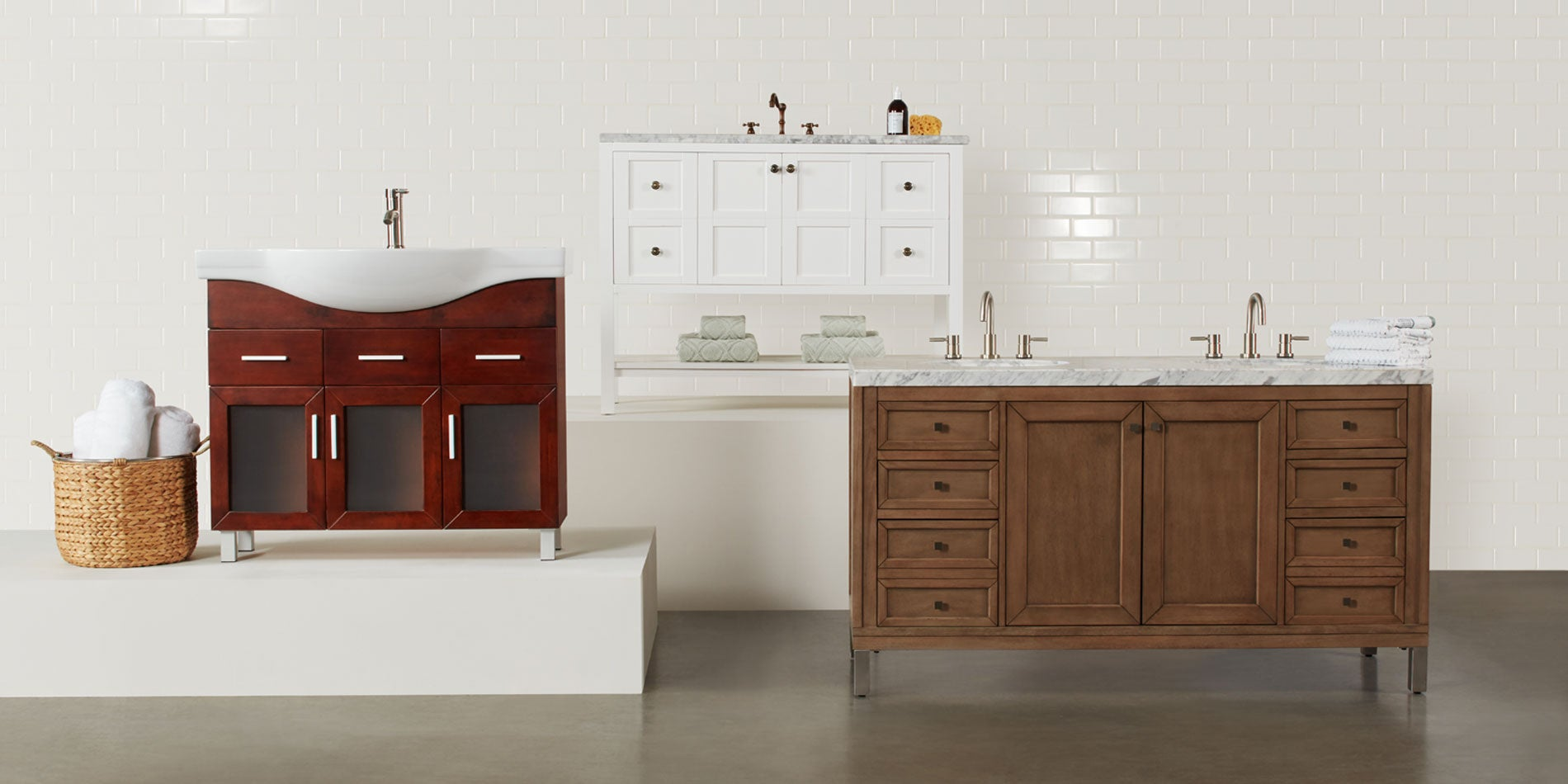 Awesome Bathroom Vanity Cabinet Design Ideas