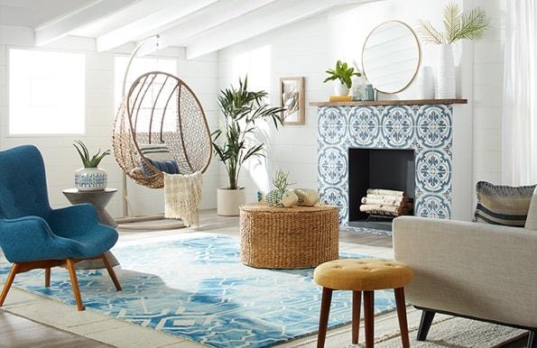 Coastal styled Living Room