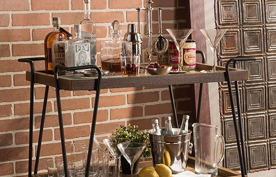 Dining Room Bar Cart: Easy Decorating Updates For The Home