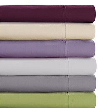 Stack of Egyptian cotton sheets