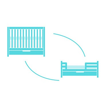 Baby Convertible Crib