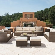 Select Patio Sofas, & Sectionals*