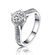 Select Cubic Zirconia Rings*