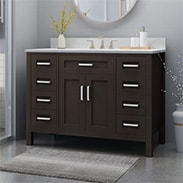 Select Bathroom Vanities & More*
