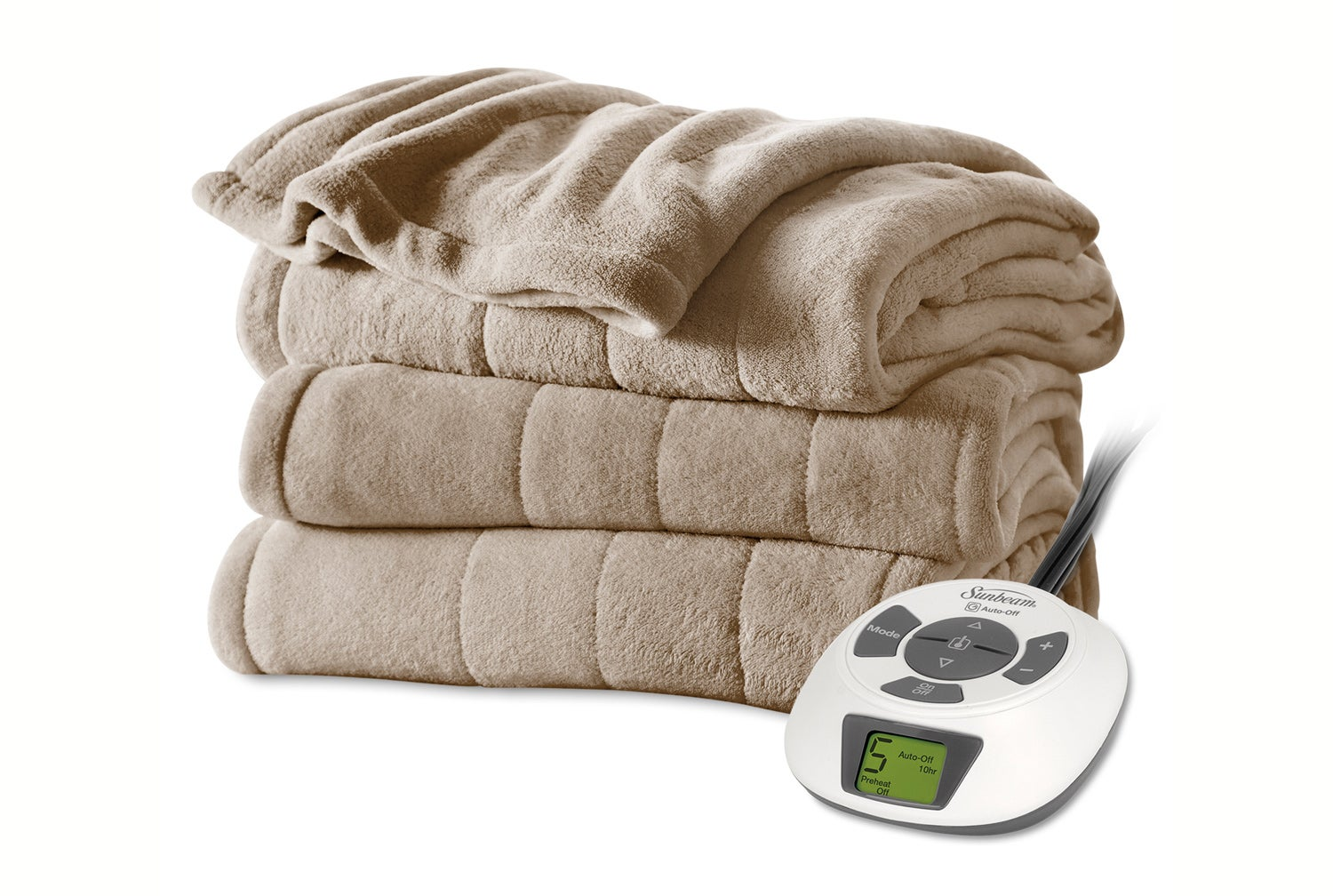 Sunbeam Electric Blanket with Digial Dial