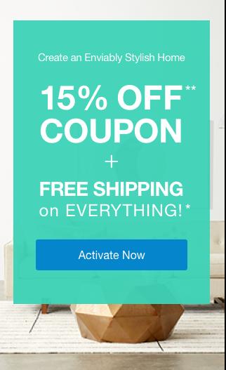 15% off Coupon**