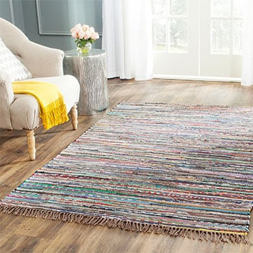 Colorful Woven Area Rug