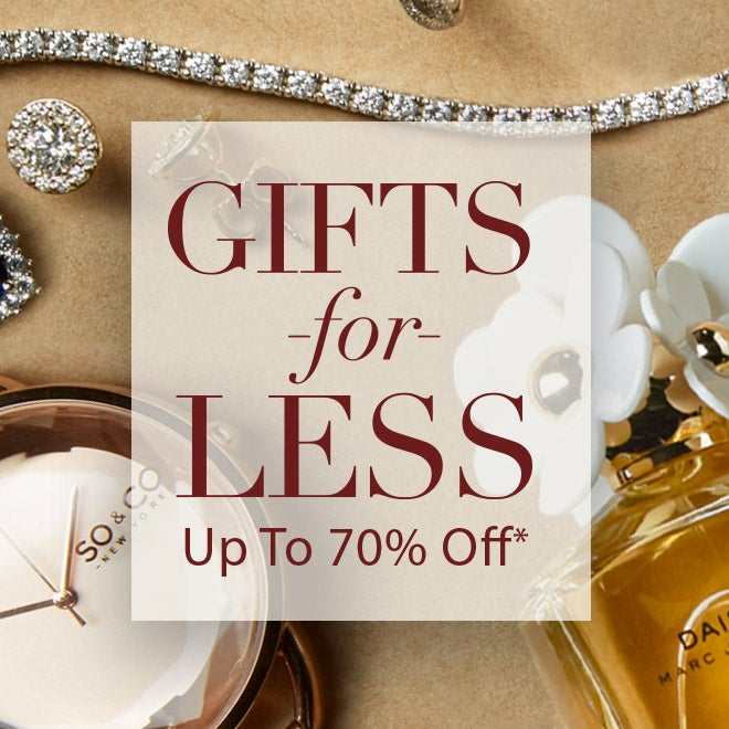 Up to 70% off* Gifts for Less