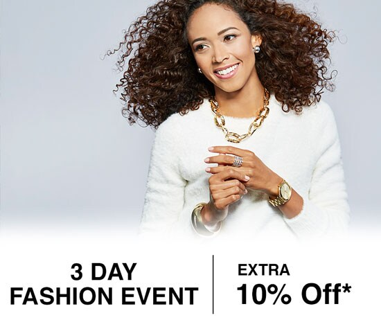 3 Day Fashion Event - Extra 10% Off*
