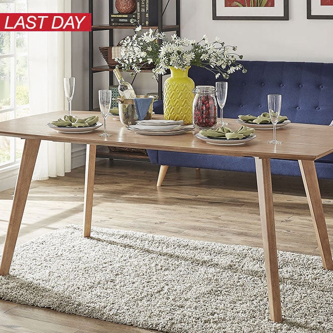 Up to 25% off + Extra 10% off Dining Room Furniture*