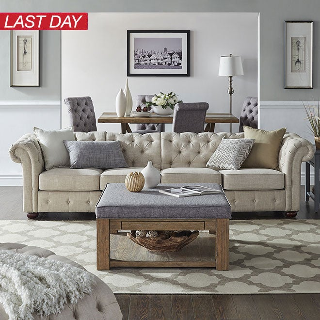 Up to 35% off + Extra 10% off Living Room Furniture*