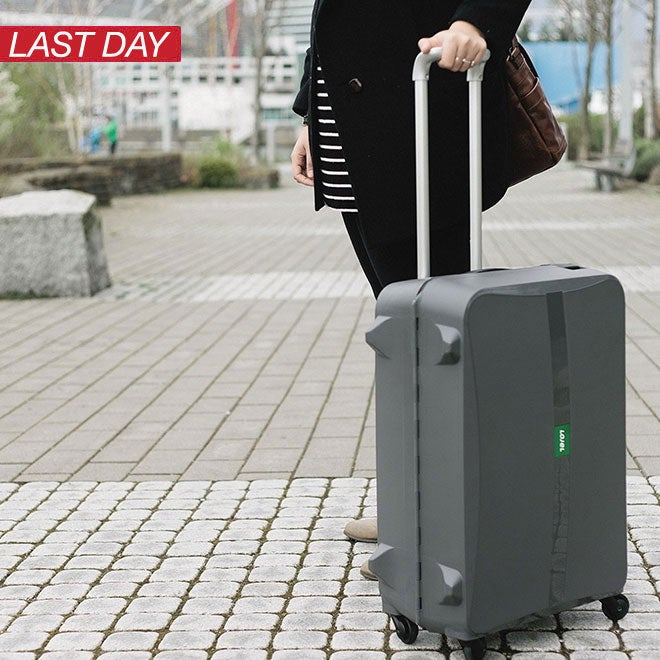 Up to 50% off + Extra 10% off Luggage & Bags*