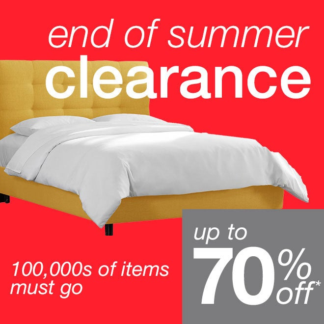 Get ready for summer with the help of these Memorial Day deals. It's time to lighten up and brighten up. We have summer clothing, lightweight bedding, sunny home decor, and everything you need for your garden and patio. With our Memorial Day sale, you can make sure everything is updated for the sunshine and good times.