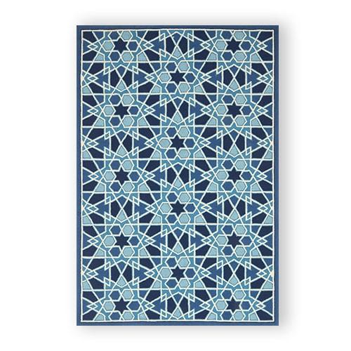 Geometric Mosaic Rug