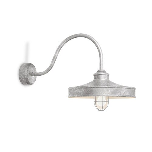 Galvanized Wall Sconce