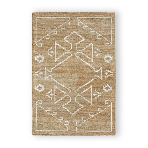 Handmade nomad rug