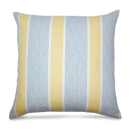 Striped Feather Pillow