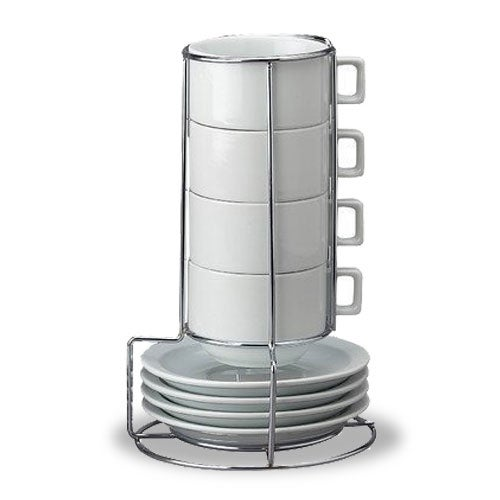 Porcelain Cup and Saucer Set