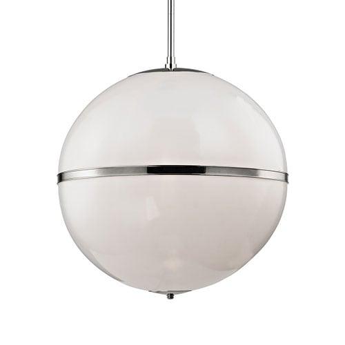 3-Light Polished Chandelier