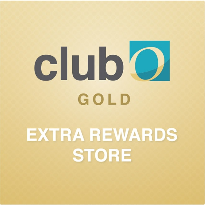 Earn Up to 40% Back Exclusive Club O Rewards