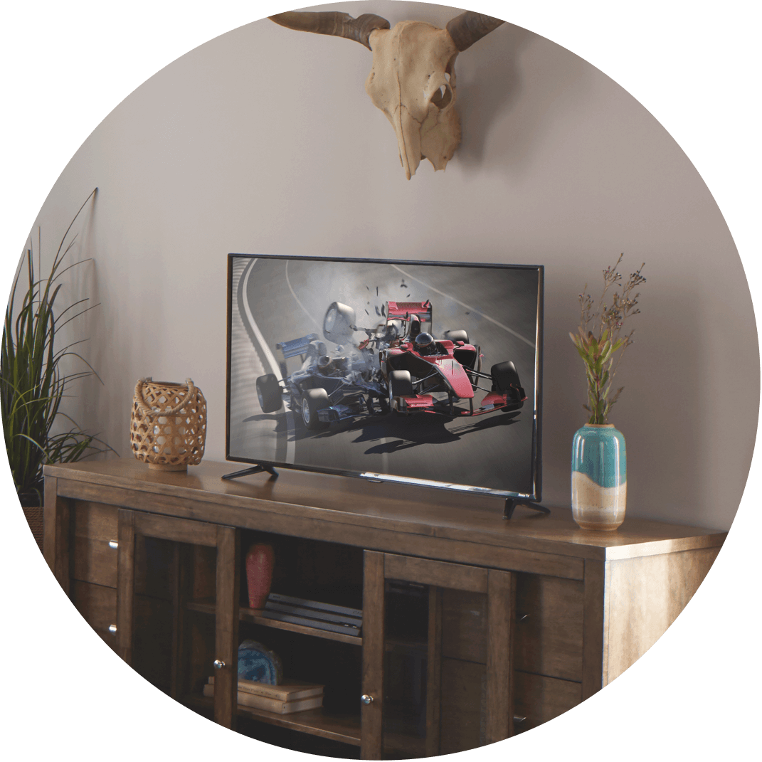 A smart TV which is a great Christmas gift idea