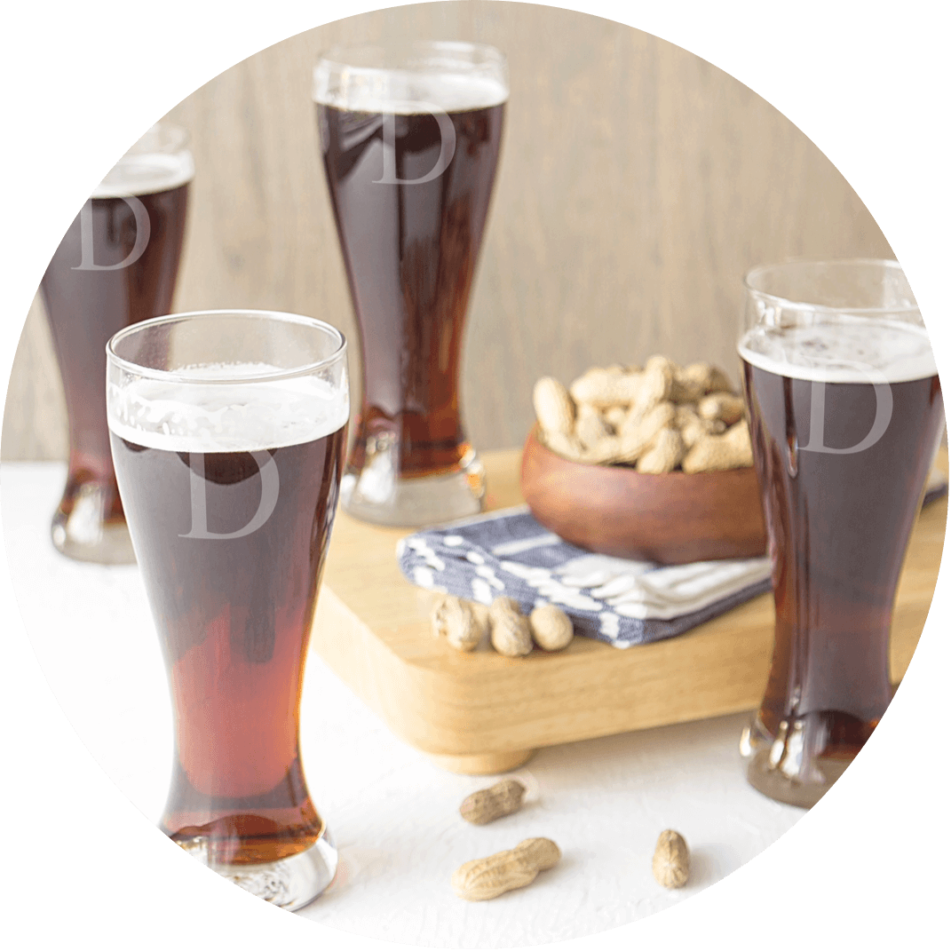 A set of personalized beer steins, a great Christmas gift for your husband