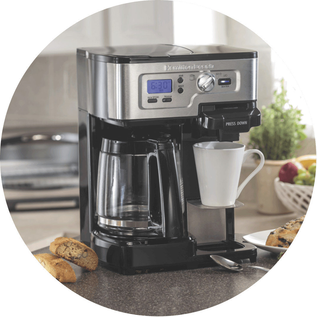 A coffee maker, a great Christmas gift for your Grandpa