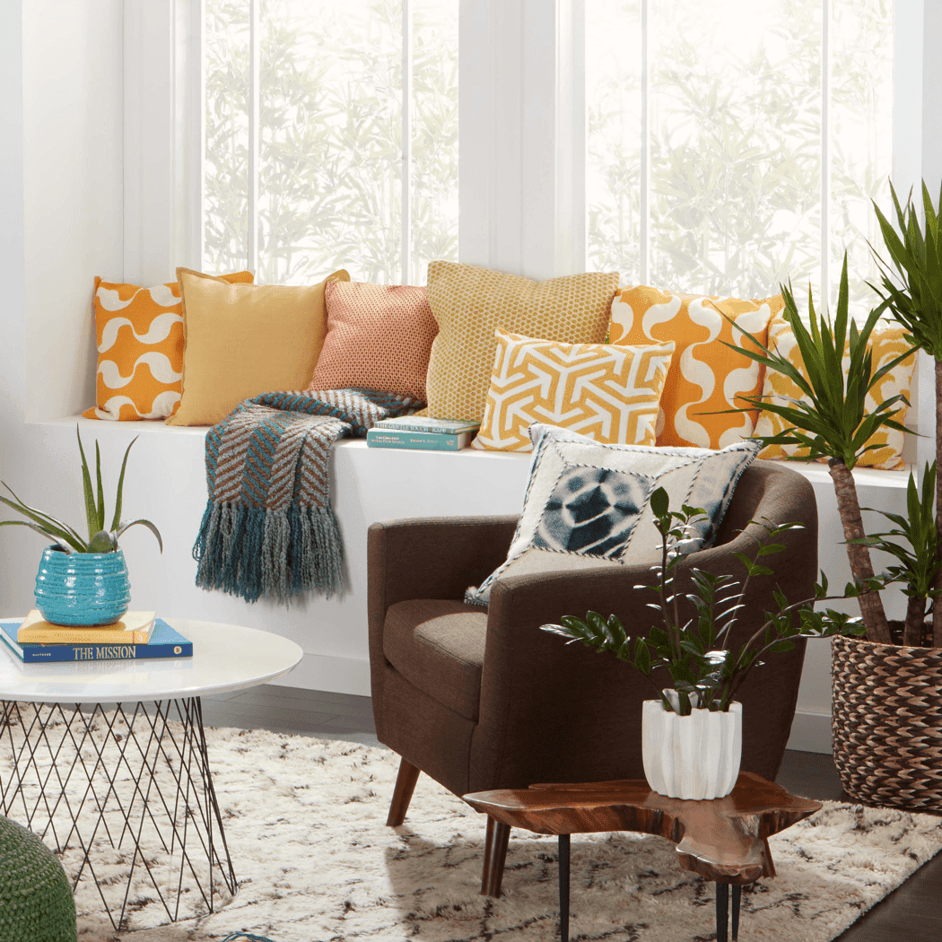 Old Brand New design challenge living room