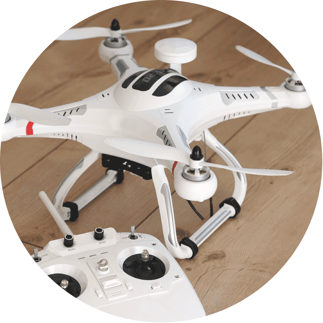 A drone, a cool gift for kids