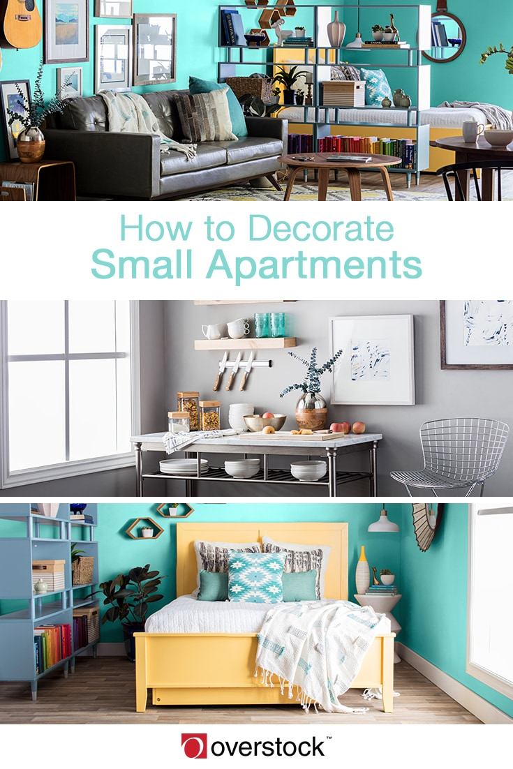 How to Decorate Small Apartments - Overstock.com Tips & Ideas