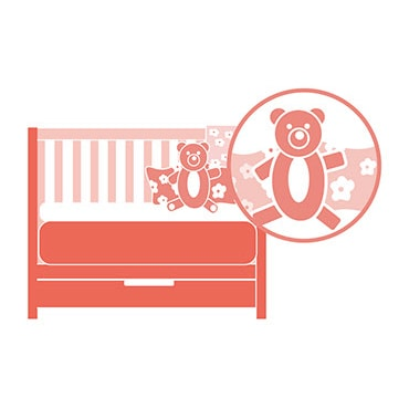 Crib Features to Avoid, Decorative Décor & Crib Clutter