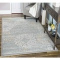 "Admire Home Living Plaza Mia Grey Area Rug (3'3 x 4'11) - 3'3"" x 4'11"""
