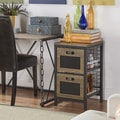 Holtom Wire Basket Storage Tower Organizer Chest by TRIBECCA HOME