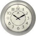 Infinity Instruments Modern Brushed-nickel finish 14.5-inch Wall Clock