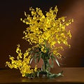 Dancing Lady Orchid 29-inch Artificial Flowers (Set of 12)