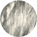 Safavieh Retro Mid-Century Modern Abstract Grey/ Ivory Rug (6' Round)