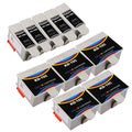 Sophia Global Compatible Ink Cartridge Replacement for Kodak 10XL B (5 Black, 5 Color)